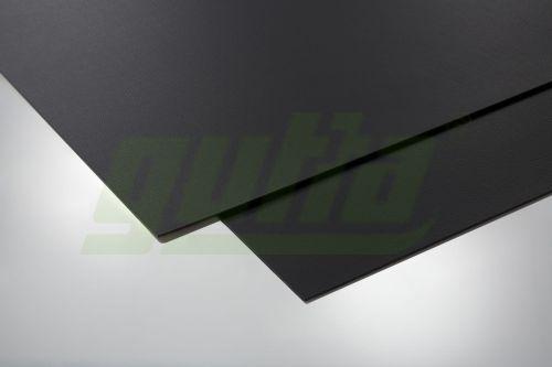Płyta Dekoracyjna Czarna Skóra 1000 X 650 Mm Samoprzylepna